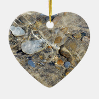 """Ebb and Flow"" collection Ceramic Ornament"