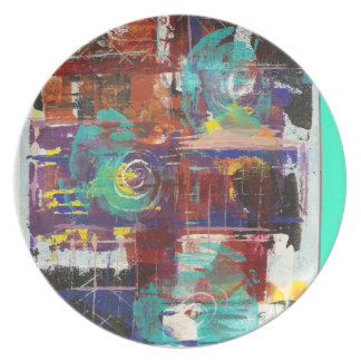 Ebb and Flow Dinner Plate