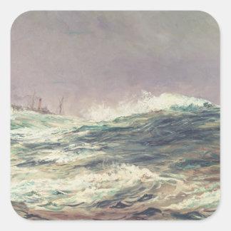 Ebb Tide, Long Reach, 1881 Square Sticker