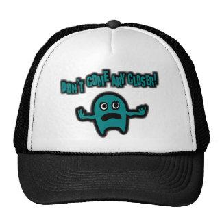 Ebbi, The Cute Little Monster - Teal Trucker Hats