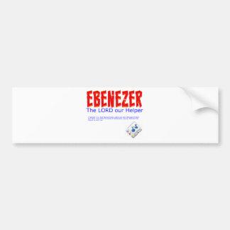 Ebenezer: El SEÑOR nuestro ayudante Pegatina De Parachoque