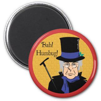 Ebenezer Scrooge 2 Inch Round Magnet