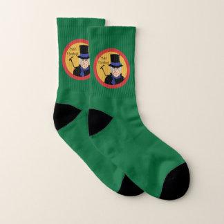 Ebenezer Scrooge Bah Humbug Socks