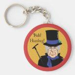 Ebenezer Scrooge Basic Round Button Keychain