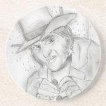 Ebenezer Scrooge Coaster