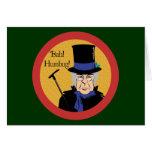 Ebenezer Scrooge Greeting Card