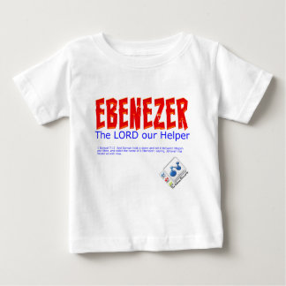 Ebenezer: The LORD our Helper Baby T-Shirt