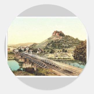 Ebernburg (i.e., Bad Munster am Stein-Ebernburg) N Sticker