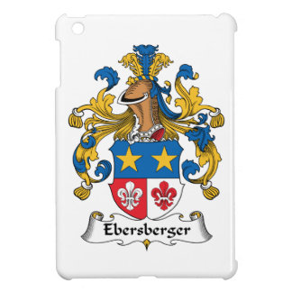 Ebersberger Family Crest Cover For The iPad Mini