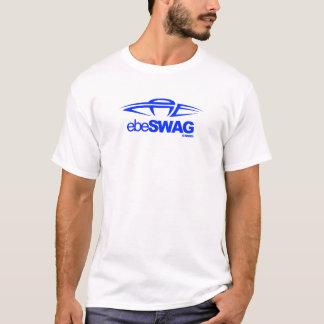 ebeSWAG LogoT - Blue/White T-Shirt