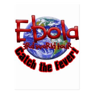 Ebola 3rd World Tour Postcard