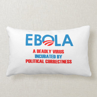 EBOLA - A DEADLY VIRUS INCUBATED PILLOW