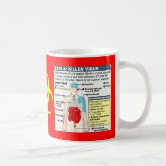 EBOLA:  KILLER VIRUS CLASSIC WHITE COFFEE MUG