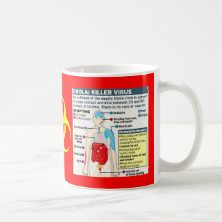 EBOLA:  KILLER VIRUS COFFEE MUGS
