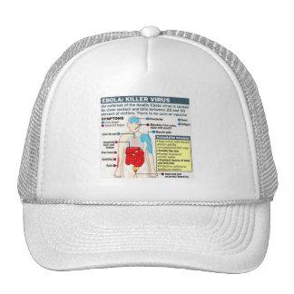 EBOLA: KILLER VIRUS TRUCKER HATS