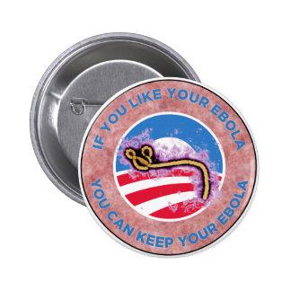 Ebola Pinback Button