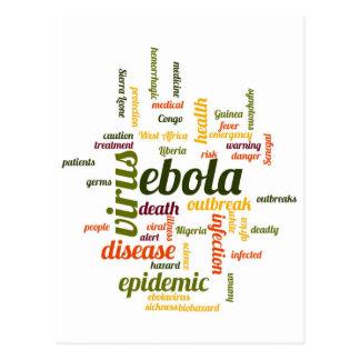 Ebola Postcard