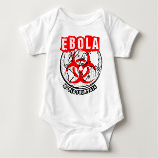 Ebola World Tour 2014 Baby Bodysuit