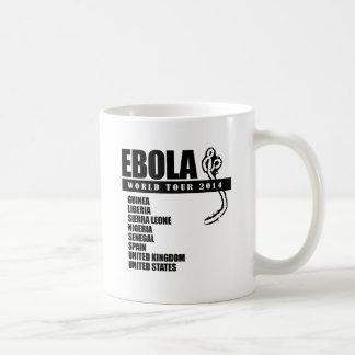EBOLA WORLD TOUR 2014 CLASSIC WHITE COFFEE MUG