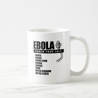 EBOLA WORLD TOUR 2014 COFFEE MUG