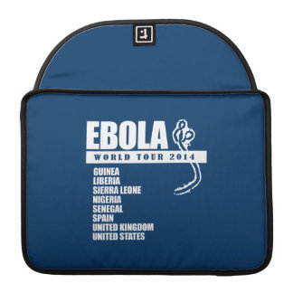 EBOLA WORLD TOUR 2014 SLEEVES FOR MacBooks
