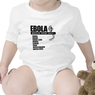 EBOLA WORLD TOUR 2014 BABY BODYSUITS