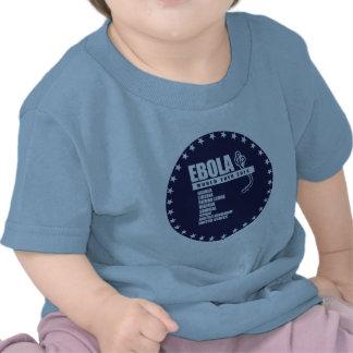 EBOLA WORLD TOUR 2014 T SHIRTS