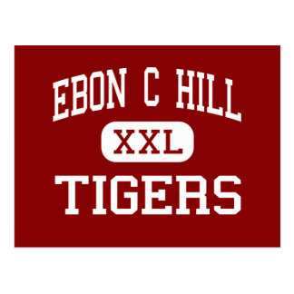 Ebon C Hill - Tigers - Middle School - Bethel Ohio Postcard
