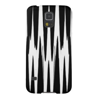 EBONY AND IVORY zebra stripe (abstract art design) Case For Galaxy S5