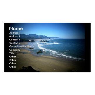 Ebony business card