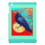 Ebony Crow & Egg w/Turquoise by Sharles iPad Mini Case