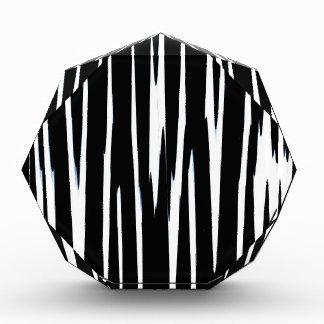 EBONY & IVORY (black & white zebra stripe design) Awards