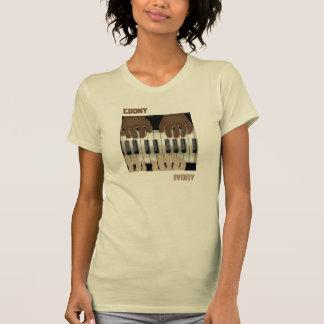 Ebony & Ivory (Ladies T-Shirt)