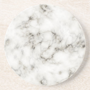 Ebony Ivory marble coasters