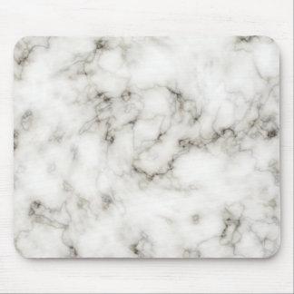 Ebony Ivory marble Mousepads