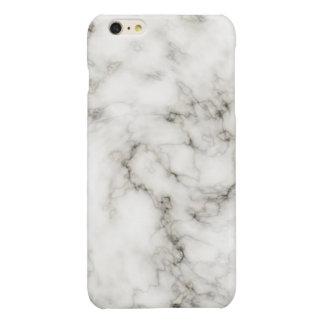 Ebony Ivory marble stone finish Glossy iPhone 6 Plus Case