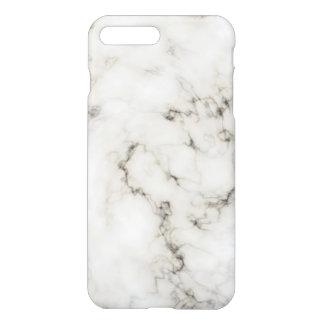 Ebony Ivory marble stone finish iPhone 7 Plus Case