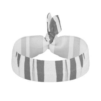 EBONY & IVORY (zebra stripe abstract art) ~ Ribbon Hair Tie