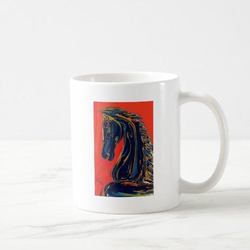 Ebony Knight Coffee Mugs