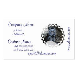 Ebony Langur Business Cards