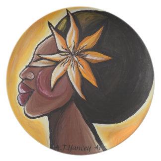 Ebony Plate