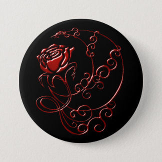 Ebony Ruby Rose Button