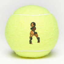 Ebony Slim & M's Collection Tennis Balls