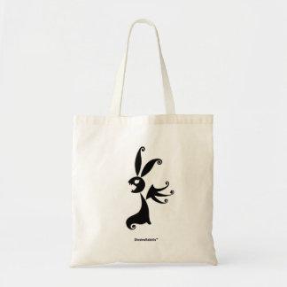 Ebony the Shadow Rabbit Tote Bag