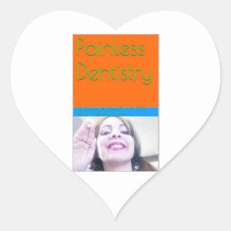 eBook de la odontología sin dolor/cubierta de Pegatina En Forma De Corazón