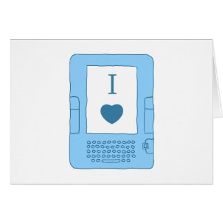 ebooks del corazón i (azules) felicitación