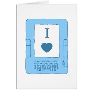 ebooks del corazón i (azules) tarjetas