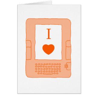 ebooks del corazón i (naranja) tarjetas