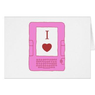 ebooks del corazón i (rosa) felicitacion