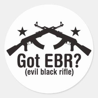 ¿EBR conseguido? AK47 Pegatina Redonda